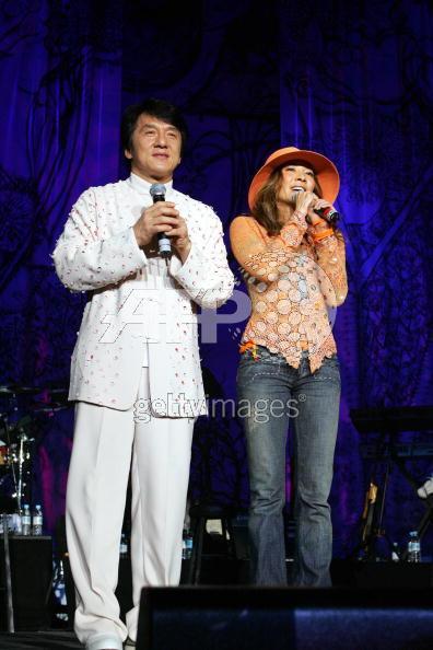 Джеки Чан и Мишель Йе