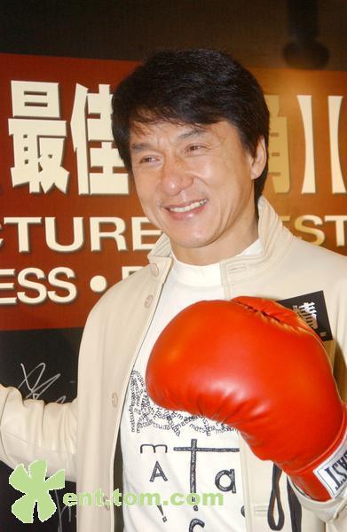 Джеки Чан на премьере фильма Малышка на миллион долларов