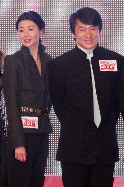 Джеки Чан и Мэгги Чунг