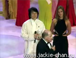 Jackie Chan at miss World ceremony 2003